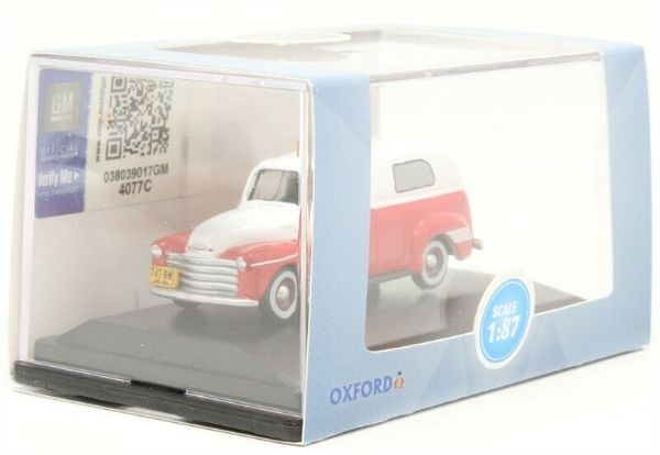 OXFORD 87CV50001 CV50001 1/87 HO SCale CHEVROLET PANEL VAN 1950 AMBULANCE